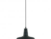 Подвесной светильник черного цвета Одеон Касл